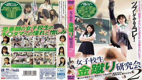 NFDM-439 - School Girls Gold Kick Study Group 2 - Freedom